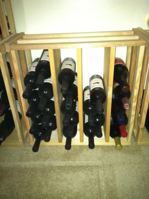 vyno buteliu laikymas
