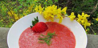 braškių sriuba