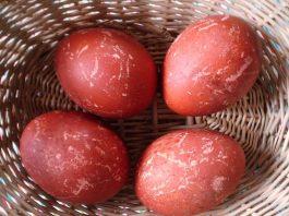 svogūnų lukštai margučiams